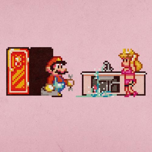 Mario x Peach