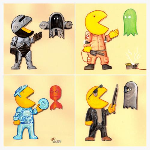 Pac Man x Le Reste Du Monde