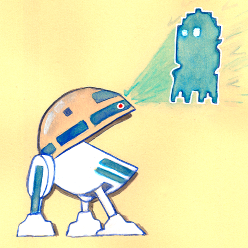 Pac Man x Star Wars