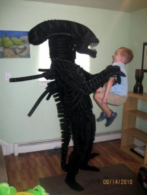 Alien x Kid