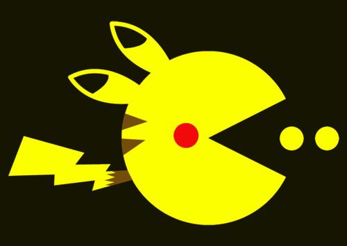 Pikachu x Pac-Man