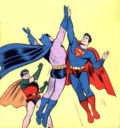 Batman + Robin + Superman = Grosses Baltringues