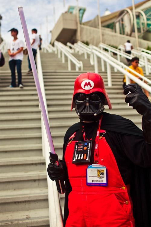 Darth Vader x Mario : La Fusion Dégueulasse