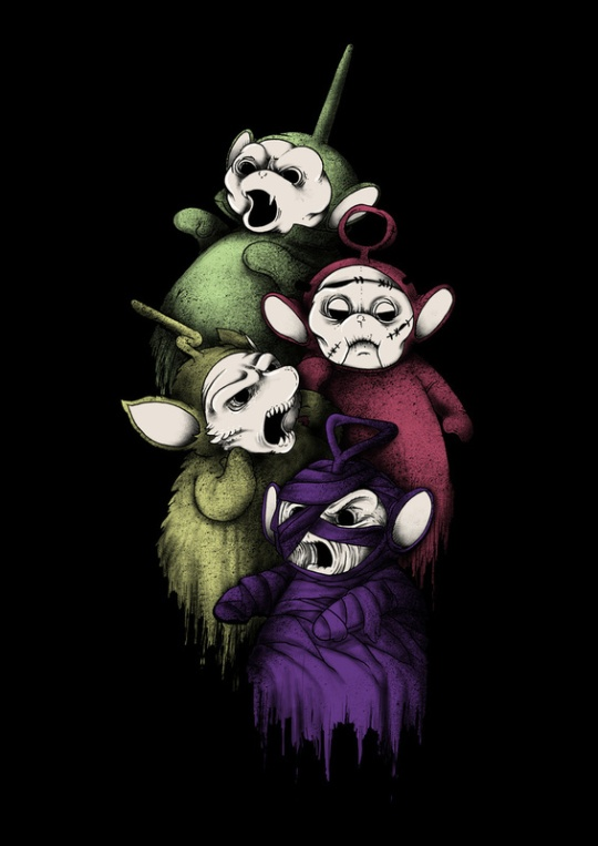 Scarytubbies, Par Anwar Rafiee