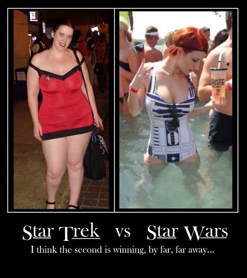 Star Wars x Star Trek