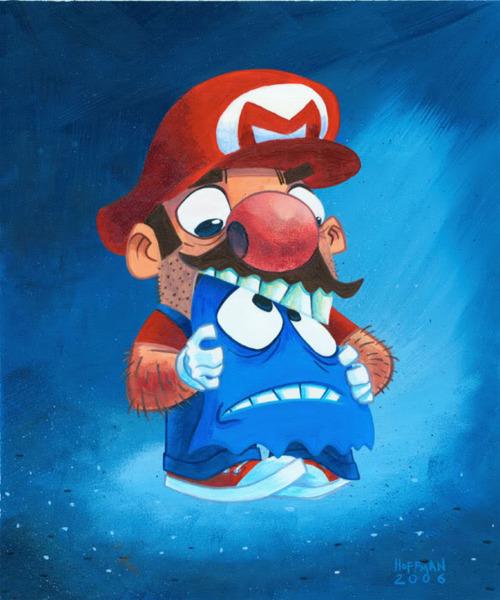 Mario x Pac-Man