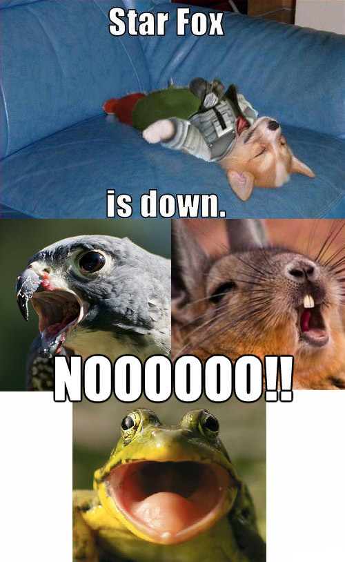 Star Fox Is Down !