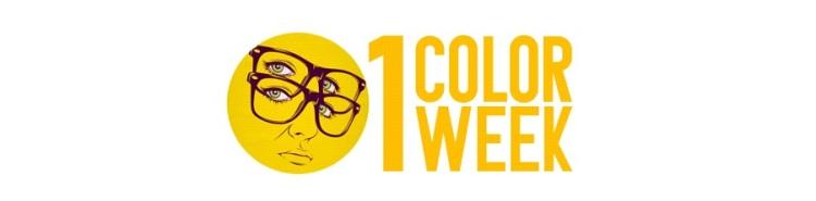 1 color 1 week